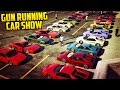 """GTA Online """"GUN RUNNING"""" THEMED CAR SHOW! Cheetah Classic, Vagner & Other Awesome Looking Cars!"""