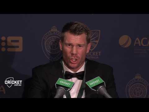 Warner surprised to take top honour at AB Medal