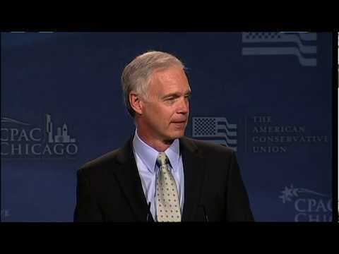 CPAC Chicago - Senator Ron Johnson