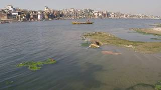Трупы в реке Ганг .Варанаси .Город мертвых .Varanasi. 2018