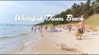 Whitefish Dunes Beach - Beaches of Door County, Wisconsin