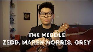 Zedd, Maren Morris, Grey - The Middle Ukulele Cover - Brian J. Lovell