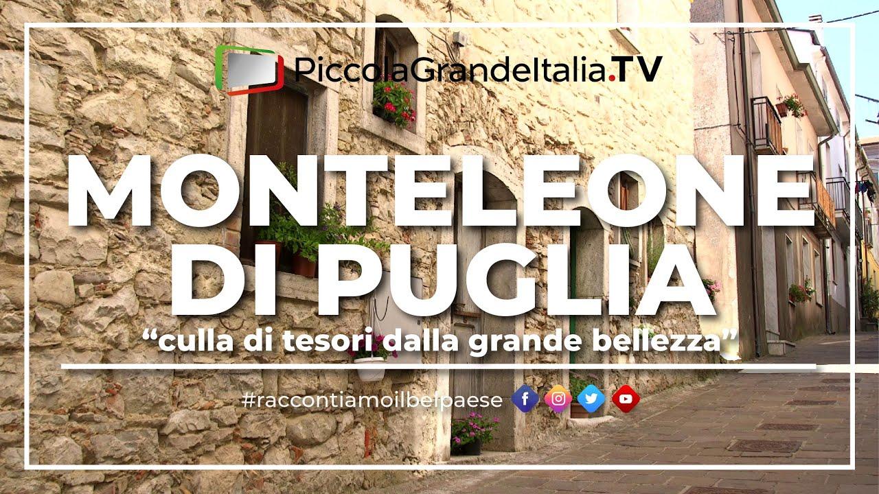 Monteleone Di Puglia Piccola Grande Italia Youtube
