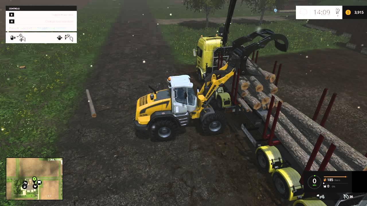 Farming Simulator 15 - Logging - Westbridge Hills - 1