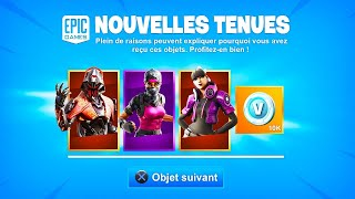 I HACK Fortnite and I DEBLOQUE 5 NEW SKINS in advance.