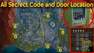 WARZONE ALL SECRET BUNKER ACCESS CODES + RED ACCESS CARD || Bunker Locations Season 5