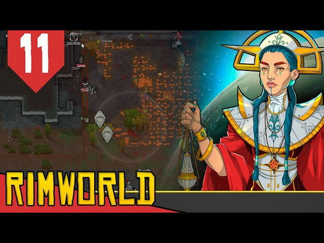 Poderes MENTAIS vs MECANOIDES - Rimworld Socialismo Transhumanista #11 [Gameplay PT-BR]