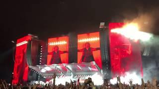 Rolling Stones Lucca 23/09/2017 Concert Start - Sympathy For The Devil -