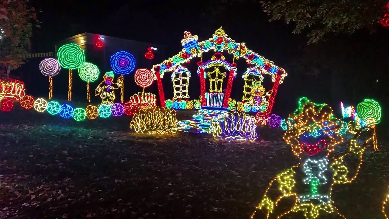 Exceptionnel Rock Cityu0027s Enchanted Garden Of Lights 2016