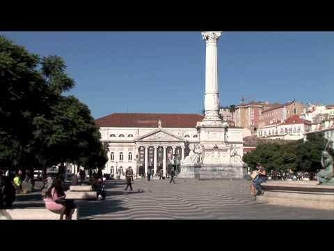 Lisbon City PLaza zoom pan