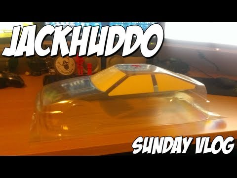 VLOG Sunday - New Drift Car Shell, Lets Get It Ready For Paint