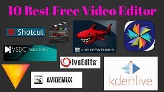 Top 10 best free Video Editor software (Windows / Mac / Linux)