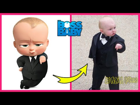 The Boss Baby Characters In Real Life | WANA Plus