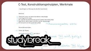 C-Test, Konstruktionsprinzipien, Merkmale | Deutsch als Zweitsprache