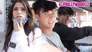 Nessa Barrett & Mads Lewis Drama Is Mistaken For Olivia & Bryce, Blake & Josh Show Off New Tesla