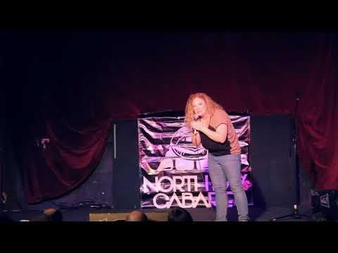 Krystal the Pistol in North Bay Cabaret's Flovember