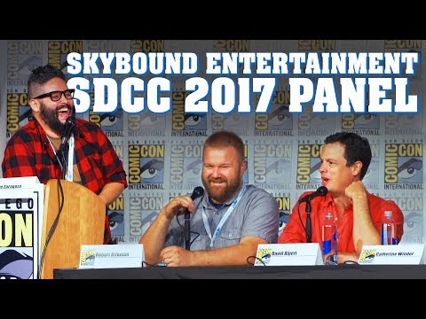 Skybound Entertainment Full Panel! - SDCC 2017