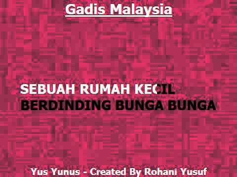 Gadis Malaysia   Yus Yunus avi Dangdut karaoke Home NO VOCAL    YouTube Mp3