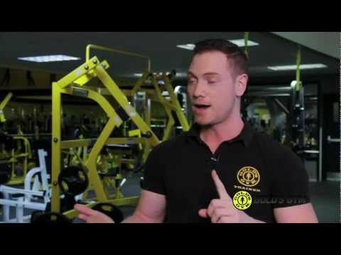 Golds Gym Calgary / Canada - Fitness Exercise BodyBuilding WeightLoss