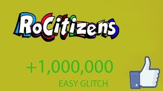 ROCITIZENS: *INSANE GLITCH* GIVES YOU MILLIONS IN INVESTMENTS