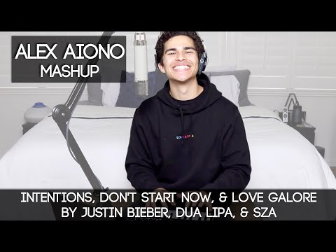 Intentions, Don't Start Now, & Love Galore By Justin Bieber, Dua Lipa, & SZA | Alex Aiono Mashup