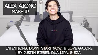 Intentions, Don't Start Now, & Love Galore by Justin Bieber, Dua Lipa, & SZA | Alex Aiono Mashup