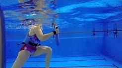 Miia Nuutila vesijuoksukoulussa | Hyvä Terveys