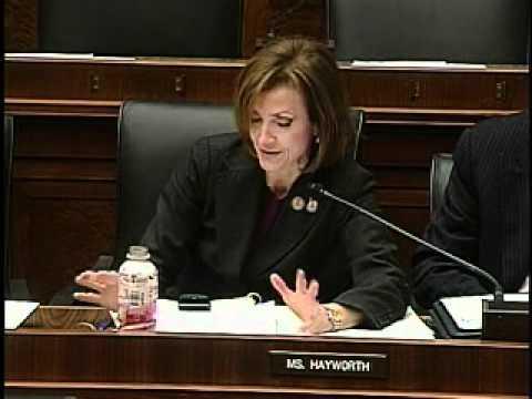 Hayworth Addresses HUD Secretary Shaun Donavan at Financial Services Committee Hearing