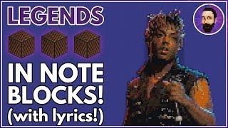 Juice WRLD - Legends ♪ Minecraft Note Block Song (Lyrics)