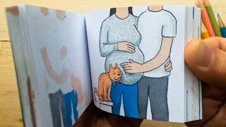 A Year in Review.  Pregnancy/Memorial Flipbook