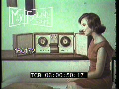 1966 TV Commercial  Wollensak ReeltoReel Tape Recorder
