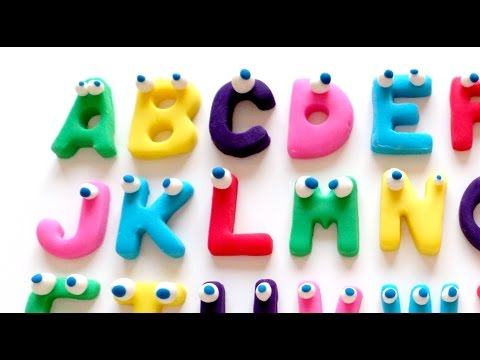 Play Doh ABC - Learning the Alphabet with Play Doh - Easy Idea Channel