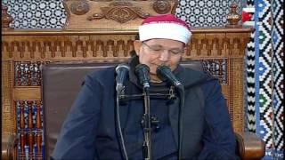 شعائر صلاة الجمعة من مسجد الحسين رضى الله عنه - 2 ديسمبر 2016