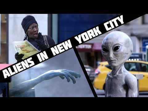 Aliens In NYC