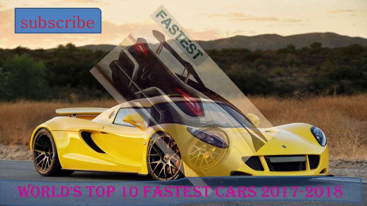 world 39 s top 10 fastest cars 2017 2018 youtube. Black Bedroom Furniture Sets. Home Design Ideas