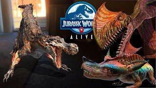 Натиск Гибридов ДИМОДАКТИЛ ПУРУОЛИТ ДИПЛОТАТОР Jurassic World Alive