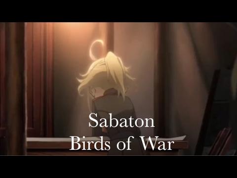 Youjo Senki - AMV - Sabaton - Birds of War