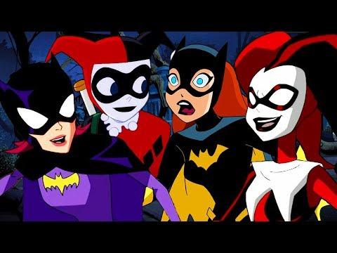 As Missões do Batman  Batgirl Vs Arlequina  DC Kids