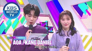 Our Cutest MCs in Episode 1006 [Music Bank / ENG]