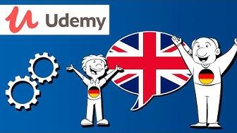 Englisch Lernen Leicht Gemacht | Mit Animierten Videos | Udemy Kurs