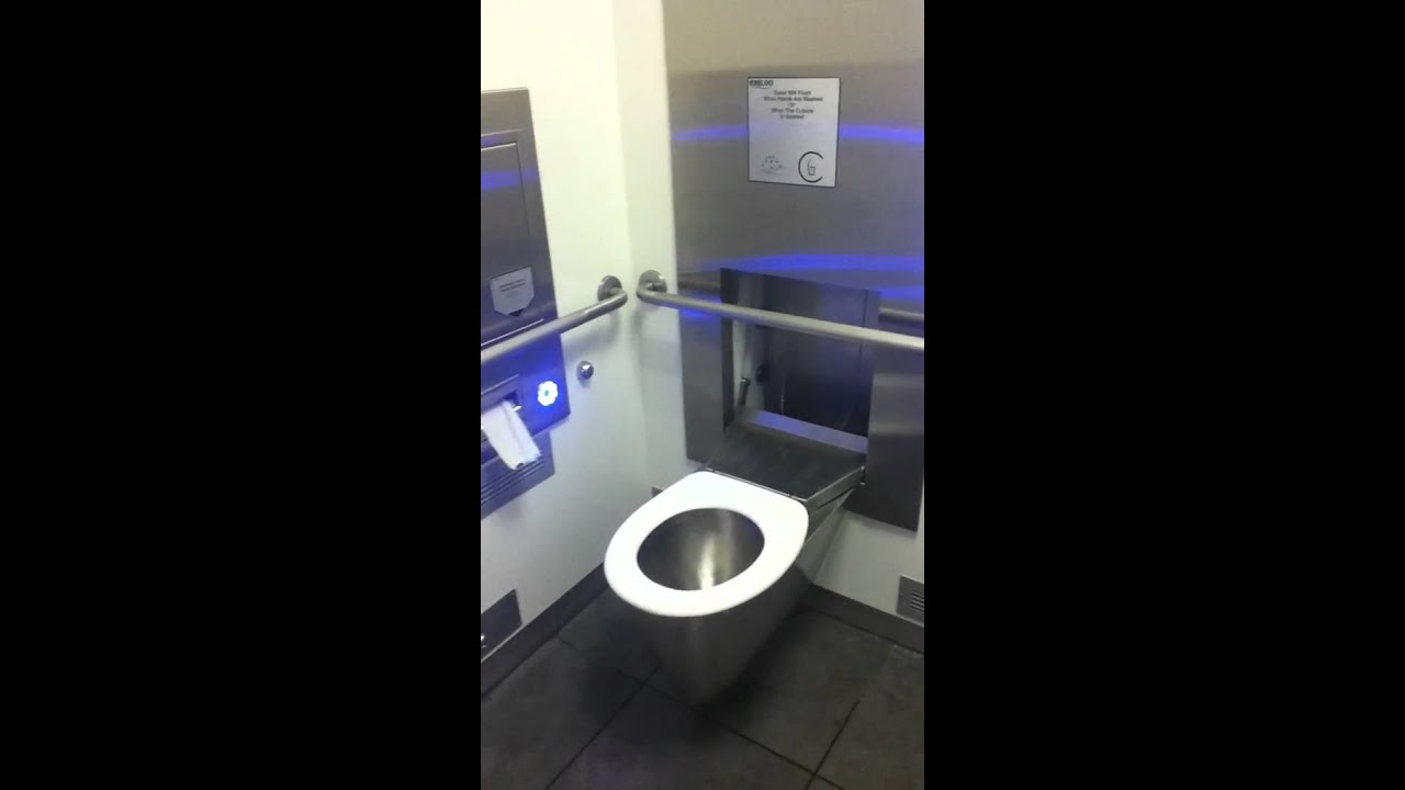 Toilet From The Future?!!