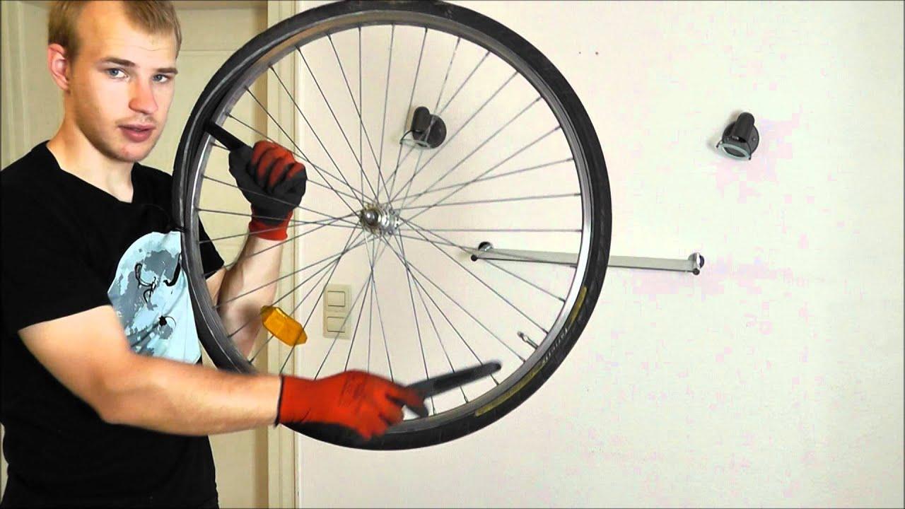 Platten Am Fahrrad Beheben Youtube
