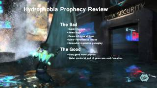 Hydrophobia Prophecy Playthrough: Part 17 - Game Review [720p - PC]