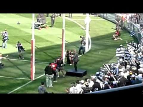 AFL Grand Final Replay 2010 - Collingwood on Sax