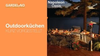 Napoleon Oasis Outdoor Küche : Outdoorküche oasis von napoleon kurz vorgestellt youtube