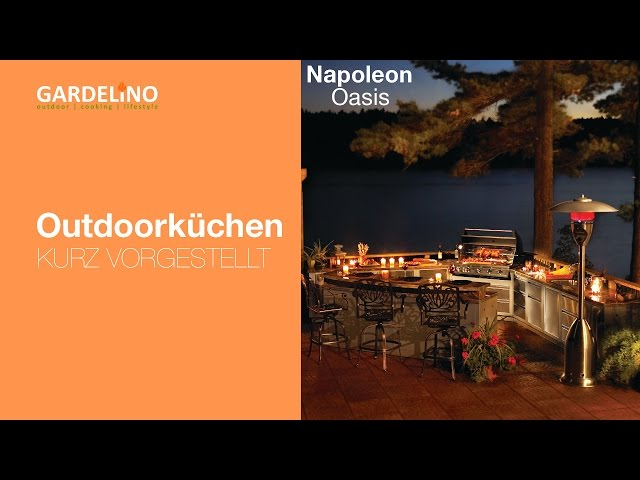 Outdoorküche Napoleon Bonaparte : Outdoorküche oasis von napoleon kurz vorgestellt youtube