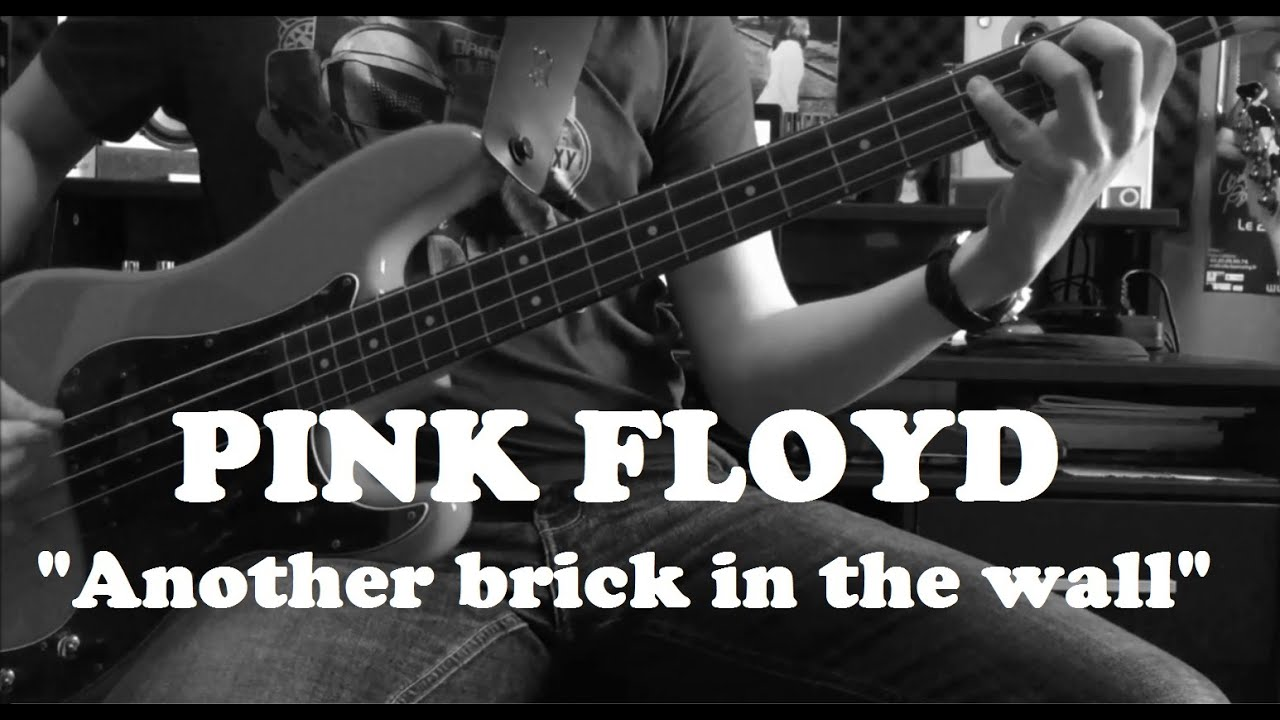 Pink Floyd Another Brick In The Wall Part 2 Bass Cover Youtube