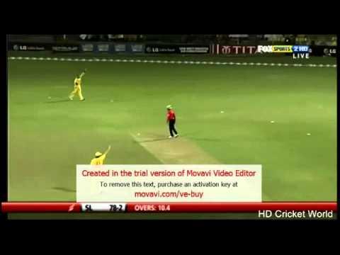 T.M Dilshan ( the best opening batsman )
