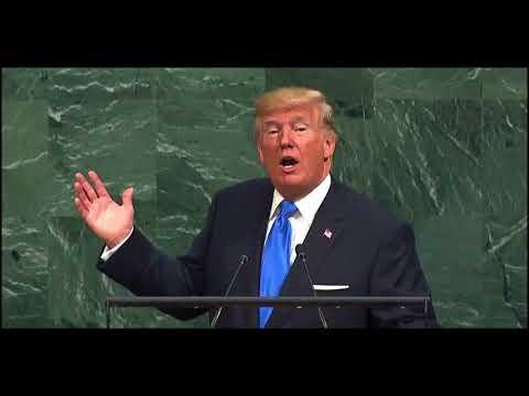 Donald Trump sobre el gobierno de Nicolás Maduro ante la Asamblea General de la ONU