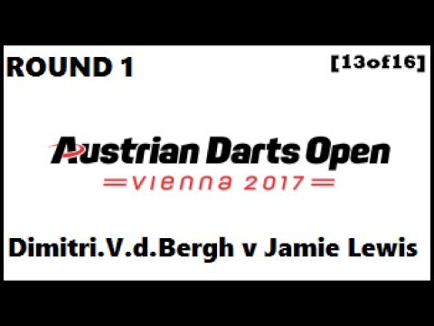 Austrian Darts Open 2017 HD - Round 1 [13of16]: Dimitri Van
